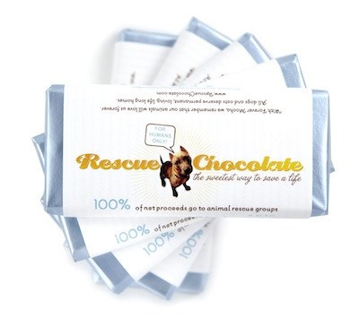 Support rescue efforts - buy chocolates from rescuechocolate.com